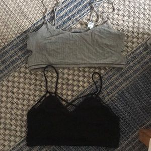 6eac8c8265936b Mango Intimates   Sleepwear - Two bralettes size S mango and American eagle